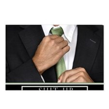 16x20_suitup_h Postcards (Package of 8)