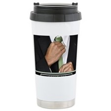 16x20_suitup_h Travel Coffee Mug