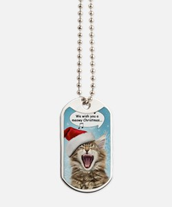 sing_greet Dog Tags