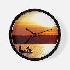 anglersSQ Wall Clock