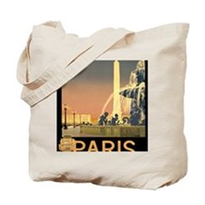 Paris Fountain iPad1 Tote Bag