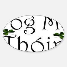 poglicense Sticker (Oval)