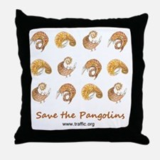pangolin design 16May11 Throw Pillow