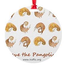 pangolin design 16May11 Ornament