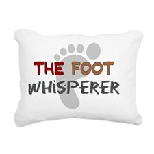 The foot whisperer NEW Rectangular Canvas Pillow