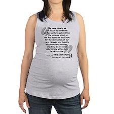 Carson Universe Quote Maternity Tank Top