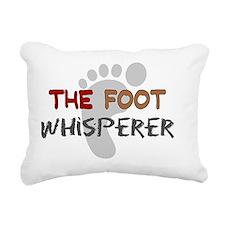 The foot whisperer NEW Rectangular Canvas Pillow
