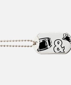 drumandbass1 Dog Tags