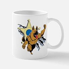 Police K9 Super Hero Mug