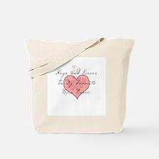 Hugs and kisses to my Nicu nu Tote Bag