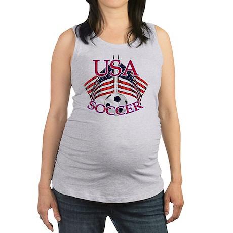 usa soccer Maternity Tank Top