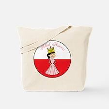 Polish Princess Baby Girl Tote Bag