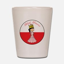 Polish Princess Baby Girl Shot Glass