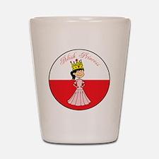 Polish Princess Baby Girl Shot Glass