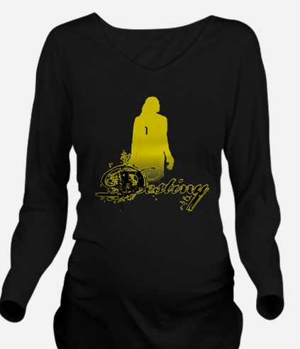 hope-solo-destiny-sh Long Sleeve Maternity T-Shirt