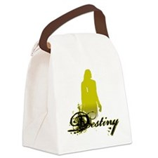 hope-solo-destiny-shirt-black Canvas Lunch Bag