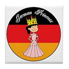 German Princess Tile Coaster