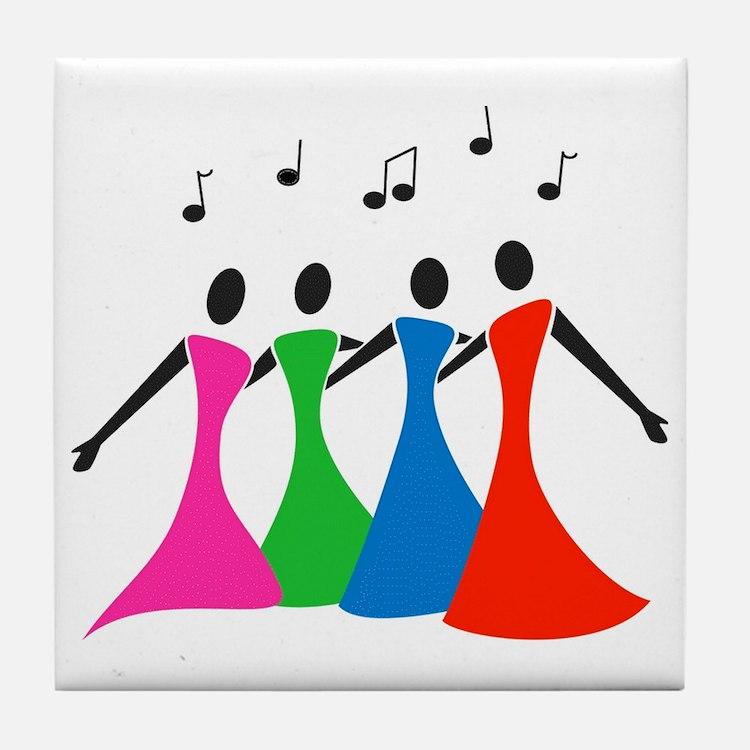 singingaloud Tile Coaster