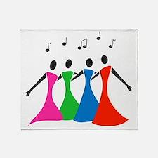 singingaloud Throw Blanket