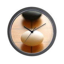 One Space Approach Wall Clock