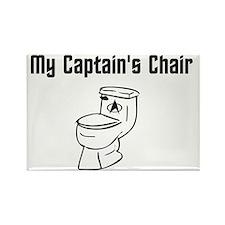 CaptainsChair Rectangle Magnet