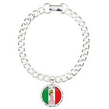 Italian Princess Shirt Charm Bracelet, One Charm