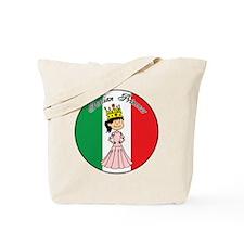 Italian Princess Shirt Tote Bag
