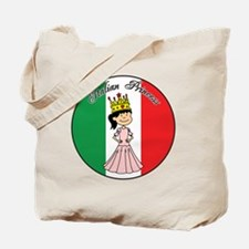 Italian Princess Shirt Tote Bag
