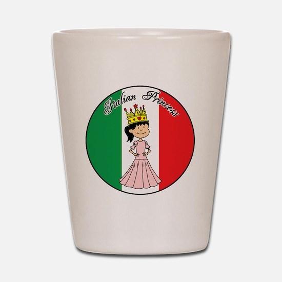 Italian Princess Shirt Shot Glass