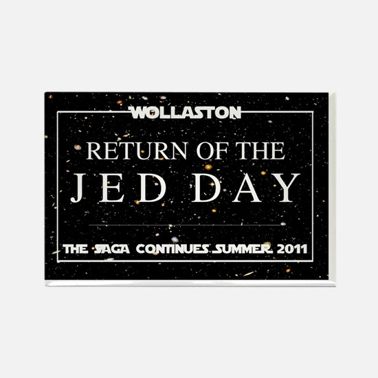 JED DAY Main Logo Rectangle Magnet