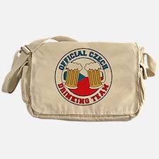 Official Czech Drinking Team Messenger Bag