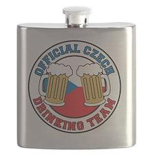 Official Czech Drinking Team Flask