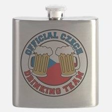 Official Czech Drinking Team Flask