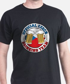 Official Czech Drinking Team T-Shirt