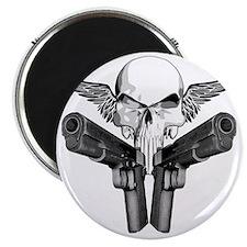 1911_skull Magnet