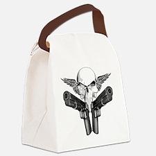 1911_skull Canvas Lunch Bag