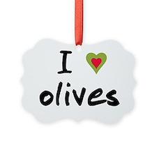 I love olives Ornament