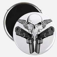 1911_skull_blk Magnet