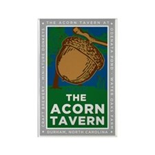Acorn Tavern Sign Rectangle Magnet