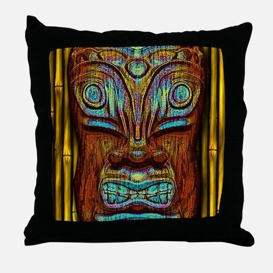 BlueWoodTjki Throw Pillow