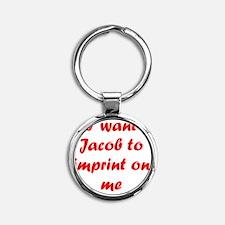 Jacobimprint Round Keychain