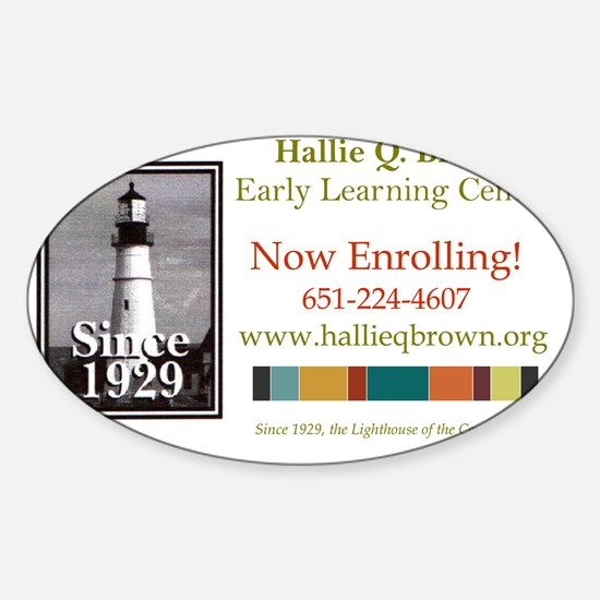 ELC Banner Sticker (Oval)