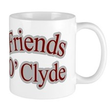 Seinfeld-FriendsOClyde-Baseball Mug