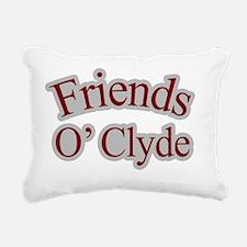 Seinfeld-FriendsOClyde-B Rectangular Canvas Pillow