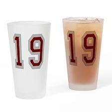 Seinfeld-FriendsOClyde-Baseball-Bac Drinking Glass