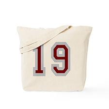 Seinfeld-FriendsOClyde-Baseball-Back Tote Bag