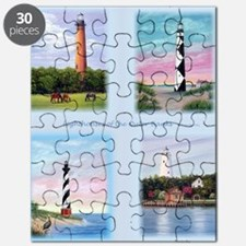 Lighthouses Outer Banks tall Puzzle