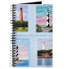 Lighthouses Outer Banks tall Journal
