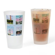 Lighthouses Outer Banks tall Drinking Glass