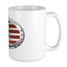 us oval full color Mug